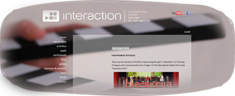 International Student Film Camp ''Interaction''